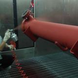 壳管喷涂烘干线